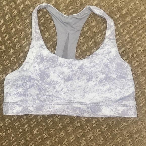 Lulu lemon sports bra*without pads*  grey pattern